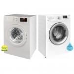 (Bundle) Elba EWF 8123 A Front Load Washing Machine (8kg) + EBD 751 V Air Vented Dryer (7kg)