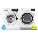 (Bundle) Electrolux EWF9025BQWA Washing Machine (9kg) + EDC804CEWA Condenser Dryer (8kg)