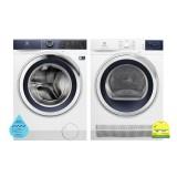 (Bundle) Electrolux EWF1042BDWA Washing Machine (10kg) + EDC804CEWA Condenser Dryer (8kg)