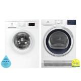 (Bundle) Electrolux EWF8025DGWA Washing Machine (8kg) + EDC704GEWA Condenser Dryer (7kg)