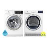 (Bundle) Electrolux EWF8025CQWA Washing Machine (8kg) + EDC804CEWA Condenser Dryer (8kg)