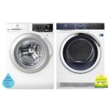(Bundle) Electrolux EWF8025CQWA Washing Machine (8kg) + EDH803BEWA Heat Pump Dryer (8kg)