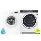 (Bundle) Electrolux EWF8025DGWA Washing Machine (8kg) + EDH903BEWA Heat Pump Dryer (9kg)