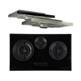 (Bundle) Fujioh FH-GS 7030 SVGL Gas Hob + FR MS 1990 R Super Slim Cooker Hood (900mm)