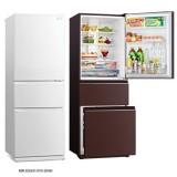 Mitsubishi MR-CGX41EN-BGR-P | MR-CGX41EN-GWH-P 3-Door Refrigerator (266L) 3 Ticks