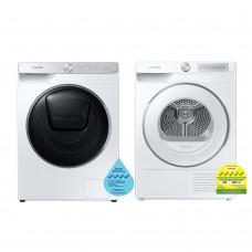 (Bundle) Samsung WW85T954DSH/SP Washing Machine (8.5kg) + DV80T6220HH/SP Heat Pump Dryer (8kg)