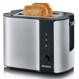 Severin AT 2589 Stainless Steel Pop-up Toaster