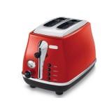 Delonghi CTO2003.R Icona 2 Slice Toaster