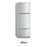 Mitsubishi MR-V45EG Multi- Door Refrigerator in Silver (343L)