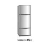 Mitsubishi MR-V45EG Multi- Door Refrigerator in Stainless Steel (343L)