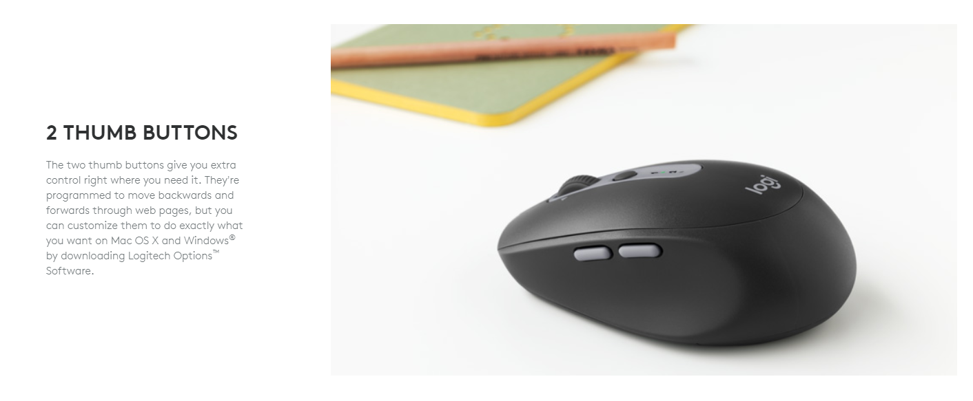 Logitech M590 Wireless Multi Device Silent Mouse Description Technical Specifications
